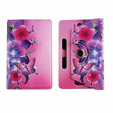 Universal Case for Asus Nexus 7 inch Tab PU Leather Folio Stand ID Slots Cover