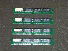 4x EDI8F3265C15MNC 2Mbit (64K x 32) 64 PIN SIMM CMOS TTL COMPATIBLE SRAM MODULES