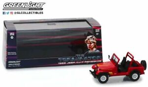GREENLIGHT 86533 Sarah Connor's 1983 Jeep CJ-7 Renegade from The Terminator 1:43
