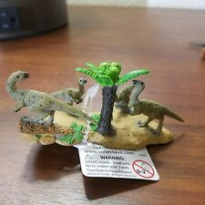CollectA Prehistoric Hypsilophodon Family & fern dinosaurs New with Tags