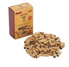 120x HORNET PRE ROLLED Natural UnRefined Cigarette Filter Rolling Paper Tips 7MM