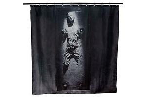 Star Wars Han Solo In Carbonite Shower Curtain | 71 x 71 Inches