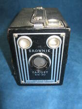Vintage KODAK Brownie Target Six-20 BOX CAMERA...Purchased when New in 1940's