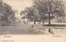 POSTCARD   LONDON  MITCHAM    The  Common    RP