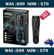 SALE ! BRAUN BT5070  CORDLESS PRECISION BEARD TRIMMER GROOMER WET & DRY SHAVER