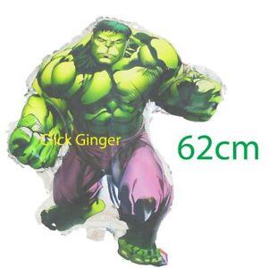 Hulk Foil Balloon 62cm Superhero Avengers Helium Decoration Green Monster