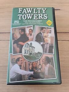 Fawlty Towers The Psychiatrist (3 Episodes) VHS Tape BBC