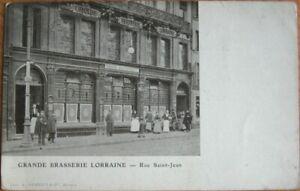 Nancy, France 1905 Brewery/Beer Postcard: 'Grande Brasserie Lorraine' - 2