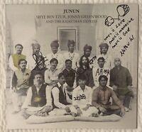 Junun Jonny Greenwood +7 RARE OOP Signed Autographed Radiohead Vinyl Record LP