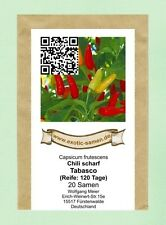 rote... scharf 6-7 Schärfegrad Kirschpeffer 100 Samen Chili..Large Cherry..