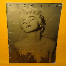 MADONNA WHO'S THAT GIRL WORLD TOUR 1987 CONCERT PROGRAMME PROGRAM