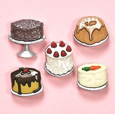 Dress it up boutons let them eat cake 6951-embellissements-cup cakes
