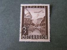 *AUSTRIA, SCOTT # C50, 3s. VALUE AIR POST 1947 AIR PICTORIALS ISSUE USED