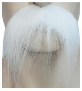 Santa Claus Western Cowboy White Mustache Costume Accessory LW366WT