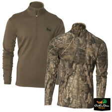NEW BANDED GEAR BASE LAYER WOOL 1/4 ZIP PULLOVER TOP  - B1030020 230 GRAM