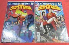 NEW SUPERMAN #1 - Regular & Variant cover (2016)