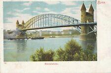 BONN - Rheinbrucke - Germany - udb (pre 1908)