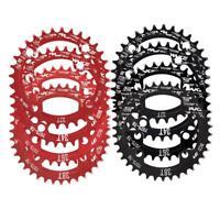 BCD104 Mountain Bike Aluminium Alloy Single Crank Chain Ring Repair Part