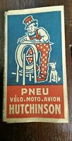 ancien papier à rouler Hutchinson vélo moto avion publicitaire