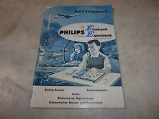 Anleitungsbuch zum Elektro-Baukasten von Philips