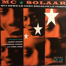 MC solaar * here seed the vent Recolte THE TIME * 12 Mix Vinyl * 1991 Polydor