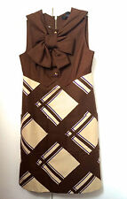 NEW MARC JACOBS BOW DRESS US 4 UK 8 60'S