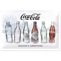 Coca Cola Blechschild Nostalgie Schild 30 cm Special Edition limitiert