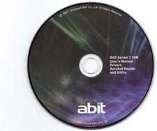 ABIT DRIVER CD TREIBER I-45C, I-45CV, ID45, IL8, AL8, AL8-V