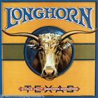 BULL LONGHORN TEXAS FRUIT GROWERS USA CRATE LABEL VINTAGE POSTER REPRO LARGE