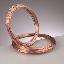 1.5 mm (14 gauge) PURE COPPER  CRAFT/JEWELLERY WIRE  1.75 metres