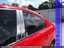 GTG 2004 - 2008 Mazda 3 4dr Sedan 6PC Chrome Stainless Steel Pillars Posts