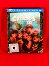 The Croods  limited 3D/2D Blu Ray Steelbook with magnetic Lenticular Cover