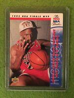MICHAEL JORDAN NBA BASKETBALL CARD 1993-1994 Upper Deck #204 1993 NBA Finals MVP