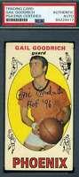 Gail Goodrich PSA DNA Coa Autograph 1969 Topps Rookie Hand Signed
