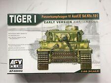 AFV CLUB 1/48 WW II GERMAN TIGER I PANZER MK VI AUSF. E W/ PHOTO ETCH # 48002 FS
