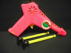 Ninja Turtles Pop Pistol Target Game made in Portugal in the 1980's - 7