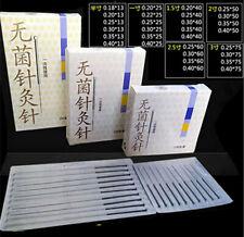 1000pcs 500pcs Acupuncture Cloud Dragon Needle with no tube Foil Wrapped 100/box