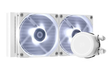 More details for id-cooling frostflow x 240 aio cooler 240mm cpu liquid snow cpu water cooler