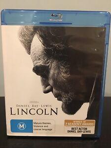 LINCOLN.  Blu Ray  [region B]