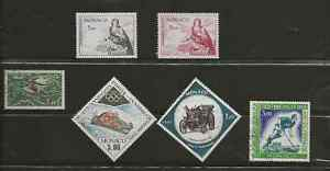 Monaco 1960's Air Mails Mint & Used