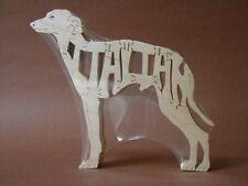 Italian Greyhound Dog Wooden Amish Toy Puzzle NEW