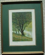 "HAROLD ALTMAN Original Lithograph ""Hill"" - Pencil Signeded Artist Proof"