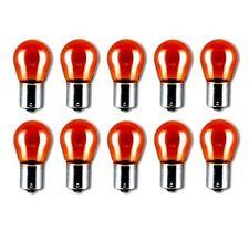 10x PY21W 12V 21W BAU15S BLINKER ORANGE AMBER LAMPEN FALTSCHACHTEL 10 STÜCK