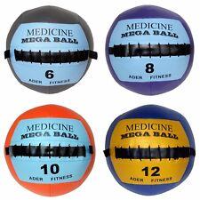 Ader Soft Mega Medicine Ball/Wall Ball Set (6, 8, 10, 12 LB)