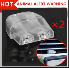 2x Deer Whistles Wildlife Warning Devices Animal Alert Car Safety Accessories L
