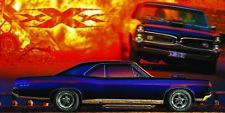 1967 Pontiac GTO BF Goodrich Banner REPRODUCTION 2'x4'