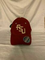 Florida State Seminoles FSU NCAA Zephyr Red One Size Stretch Fit Hat Cap New