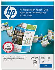 "HP Soft Gloss Presentation Paper 8.5 x 11"" 120gsm 200 Sheets (Q6541A)"