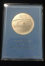 Franklin Mint Solid Sterling Silver Limited Edition Coin - Halley's Comet 1986