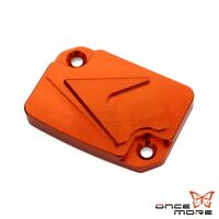 Orange Off Road Brake Fluid Cover Reservoir Oil Cap For KTM Duke 125 / 200 / 390